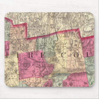 Hampshire & Hampden counties Mouse Pad