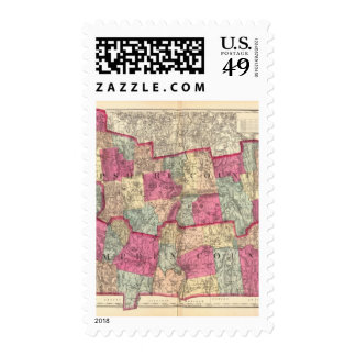Hampshire & Hampden counties Postage Stamp