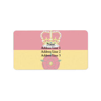 Hampshire, United Arab Emirates Address Label