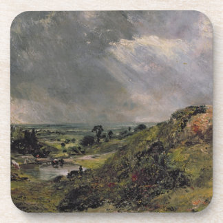 Hampstead Heath, Branch Hill Pond, 1828 Beverage Coaster