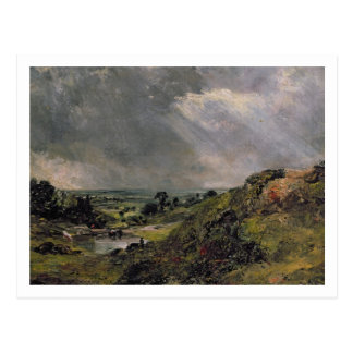 Hampstead Heath, Branch Hill Pond, 1828 Postcard