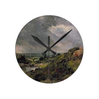 Hampstead Heath, Branch Hill Pond, 1828 Round Clock