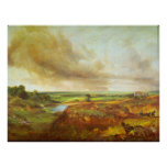 Hampstead Heath by John Constable Poster