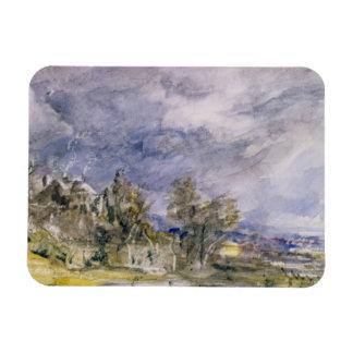 Hampstead Heath from near Well Walk, 1834 (w/c) Magnet