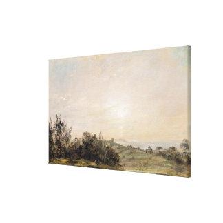 Hampstead Heath, looking towards Harrow, 1821-22 ( Gallery Wrapped Canvas