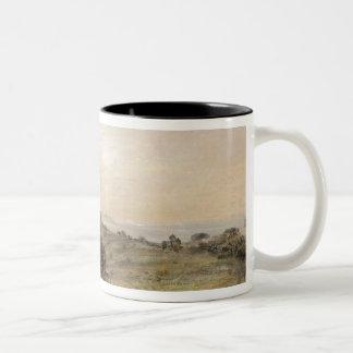 Hampstead Heath, looking towards Harrow, 1821-22 ( Two-Tone Coffee Mug