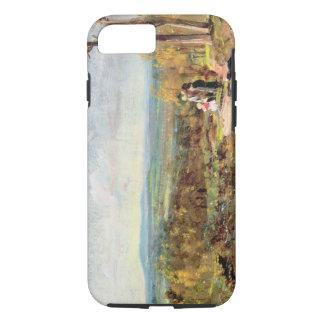 Hampstead Heath Looking Towards Harrow, 1821 (oil iPhone 8/7 Case