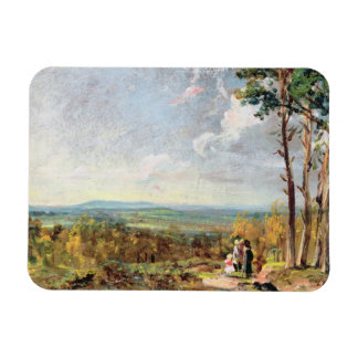 Hampstead Heath Looking Towards Harrow, 1821 (oil Magnet