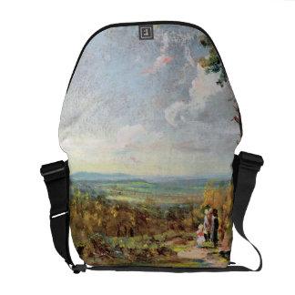Hampstead Heath Looking Towards Harrow, 1821 (oil Messenger Bag