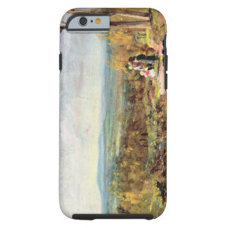 Hampstead Heath Looking Towards Harrow, 1821 (oil Tough iPhone 6 Case