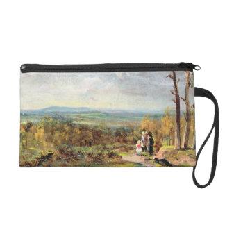 Hampstead Heath Looking Towards Harrow, 1821 (oil Wristlet Purse