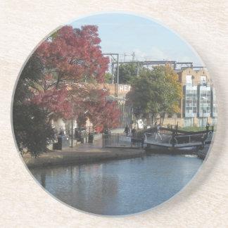 Hampstead Road lock Beverage Coaster