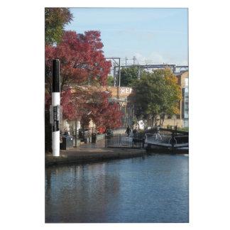 Hampstead Road lock Dry-Erase Whiteboard