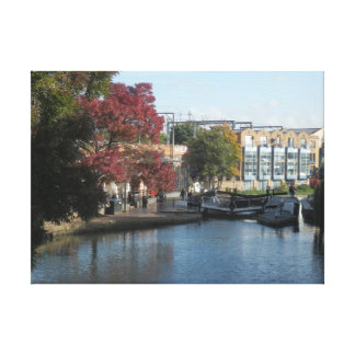 hampstead Road lock Gallery Wrap Canvas