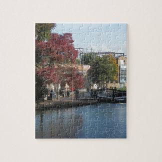 Hampstead Road lock Jigsaw Puzzle