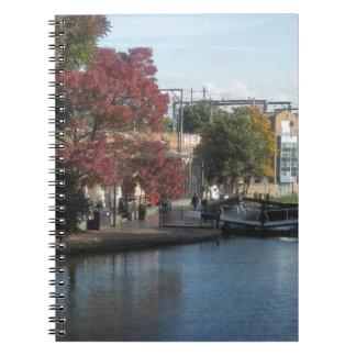 Hampstead Road lock Note Book