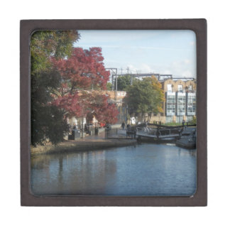 Hampstead Road lock Premium Trinket Boxes