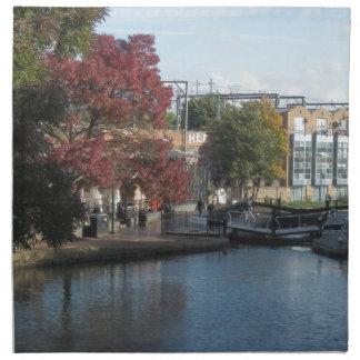 Hampstead Road lock Printed Napkins