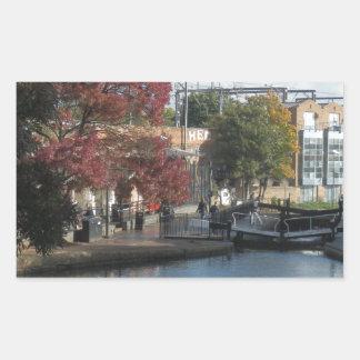 Hampstead Road lock Rectangular Sticker