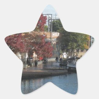 Hampstead Road lock Star Sticker