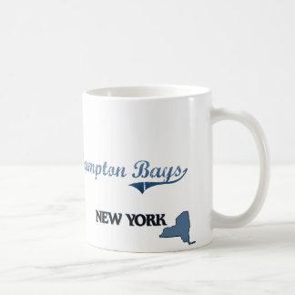 Hampton aúlla obra clásica de New York City Taza Básica Blanca