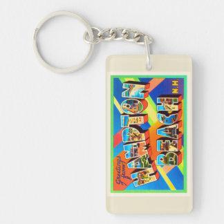Hampton Beach #2 New Hampshire NH Travel Souvenir Keychain
