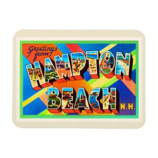 Hampton Beach #2 New Hampshire NH Travel Souvenir Magnet