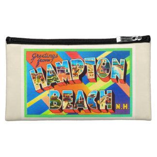 Hampton Beach #2 New Hampshire NH Travel Souvenir Makeup Bag