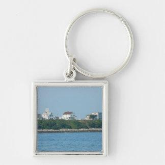 Hampton Beach - Beach Houses Keychain