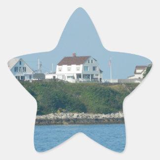 Hampton Beach - Beach Houses Sticker