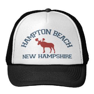 Hampton Beach - Moose Design. Trucker Hat