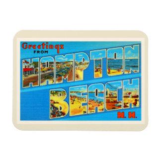 Hampton Beach New Hampshire NH Old Travel Souvenir Magnet
