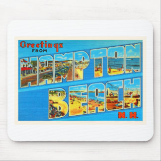 Hampton Beach New Hampshire NH Old Travel Souvenir Mouse Pad