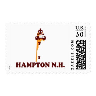 Hampton Beach - New Hampshire. Postage