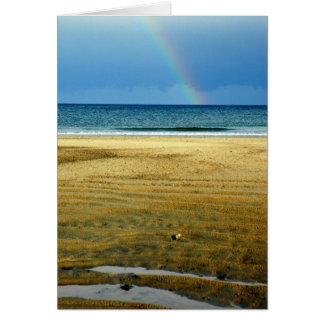 Hampton Beach Rainbow Card