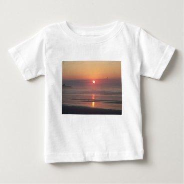 Hampton Beach Sunrise Hampton Beach New Hampshire Baby T-Shirt