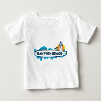 Hampton Beach Surf Design.. Baby T-Shirt