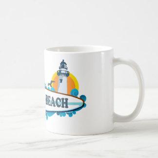 Hampton Beach Surf Design.. Coffee Mug