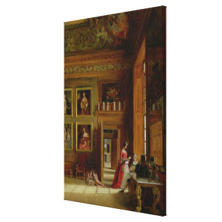 Hampton Court, 1849 Canvas Print