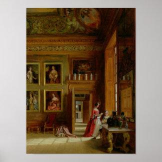 Hampton Court, 1849 Póster