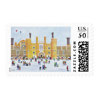 Hampton Court Front 1991 Postage