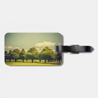 Hampton Court Palace Garden's Sculptured Trees Bag Tag