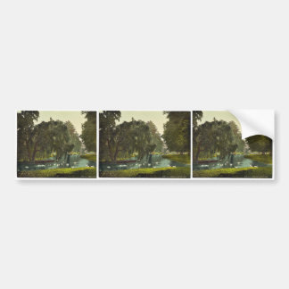 Hampton Court Park, London and suburbs, England cl Car Bumper Sticker