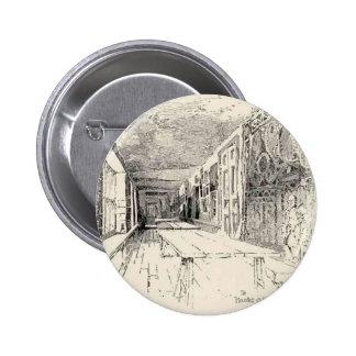 Hampton Court Pin Redondo De 2 Pulgadas