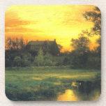 Hampton del este, Long Island - Thomas Moran (1897 Posavasos