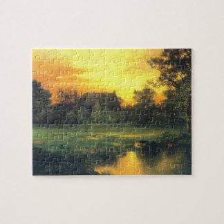 Hampton del este, Long Island - Thomas Moran (1897 Puzzle