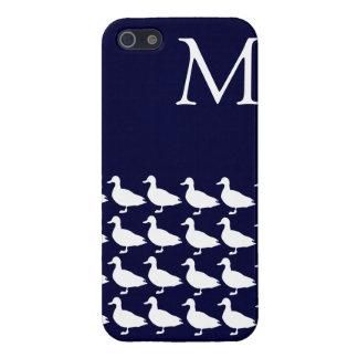 Hampton Ducks Monogrammed Iphone 5 Case