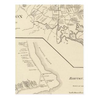 Hampton, Hampton Beach Postcard