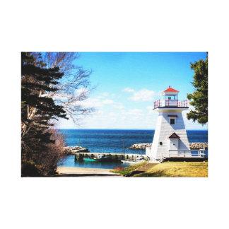 """Hampton Lighthouse Bridgetown n.s."" Canvas Print"