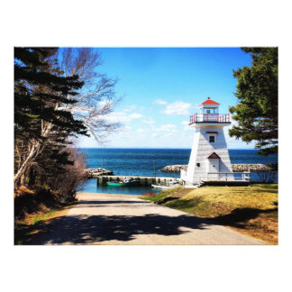 Hampton Lighthouse Bridgetown Nova Scotia Canada Photo Print